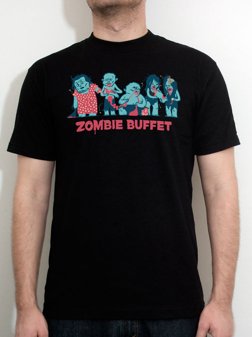 Zombie Buffet t-shirt by Nathan Olsen and Robert Olsen.